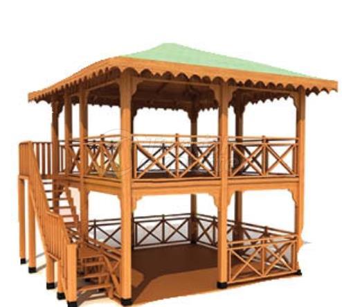 KM 5050 Camelia de madera