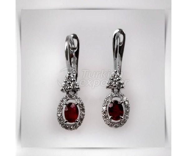 Diamond Earrings AE1636