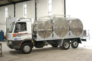 water,milk,olive tanks on trailers