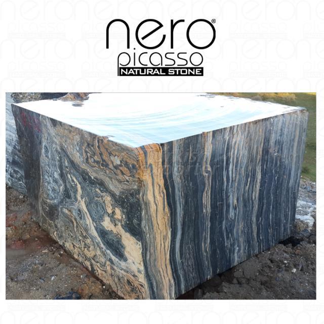 Nero Picasso Gold Block