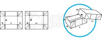 Caixas de tipo telescópio 0308