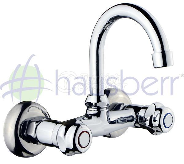 HB610 Noble Classic Dual Handle Basin & Sink Faucet