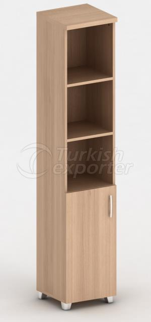 Шкафы с половинной обложкой