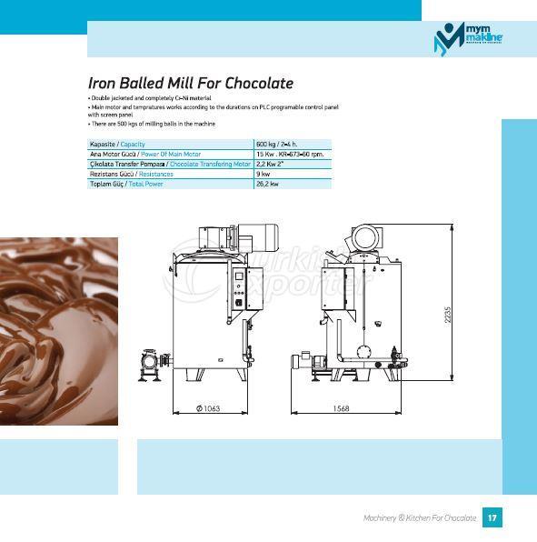 ball mill for chocolate (vinner)