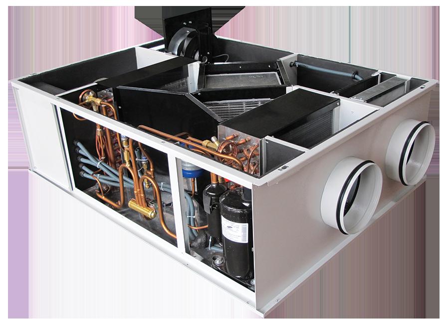 VHR DX Heat Pump Heat Recovery Units