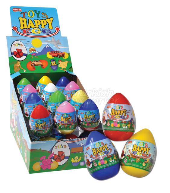 Toys Happy Egg Toy Gum
