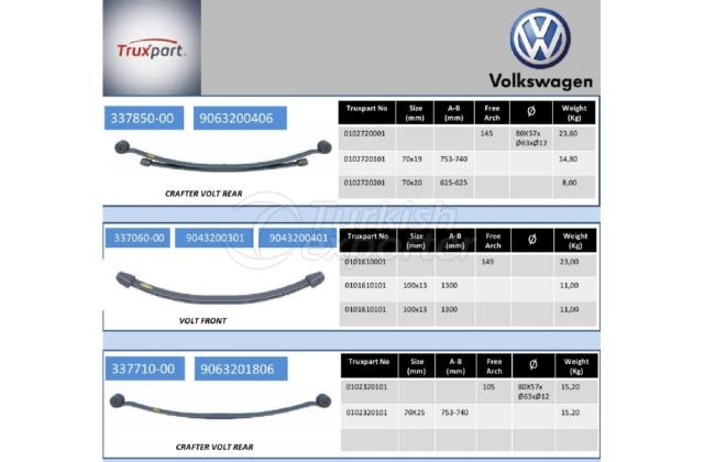 Leaf Springs Volkswagen