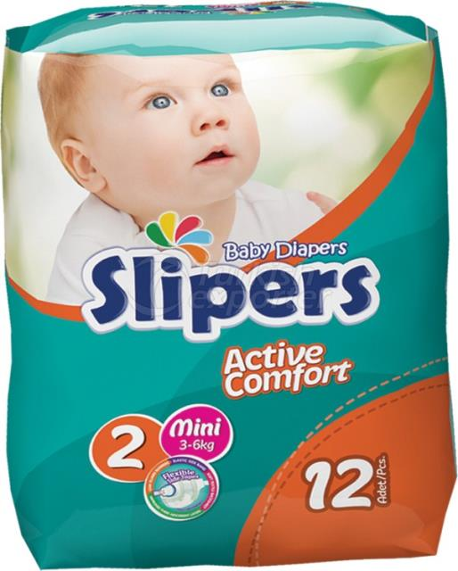 Baby Diapers Slipers --531750