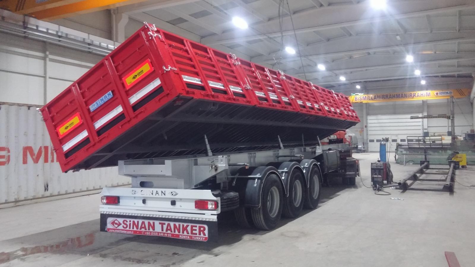 Multi cargo Transportation Tipper Semitrailer