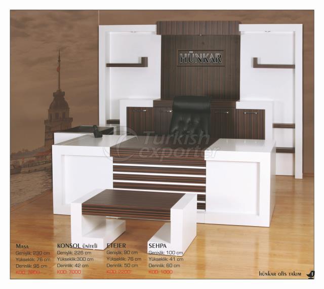 Office Table Set - Hunkar