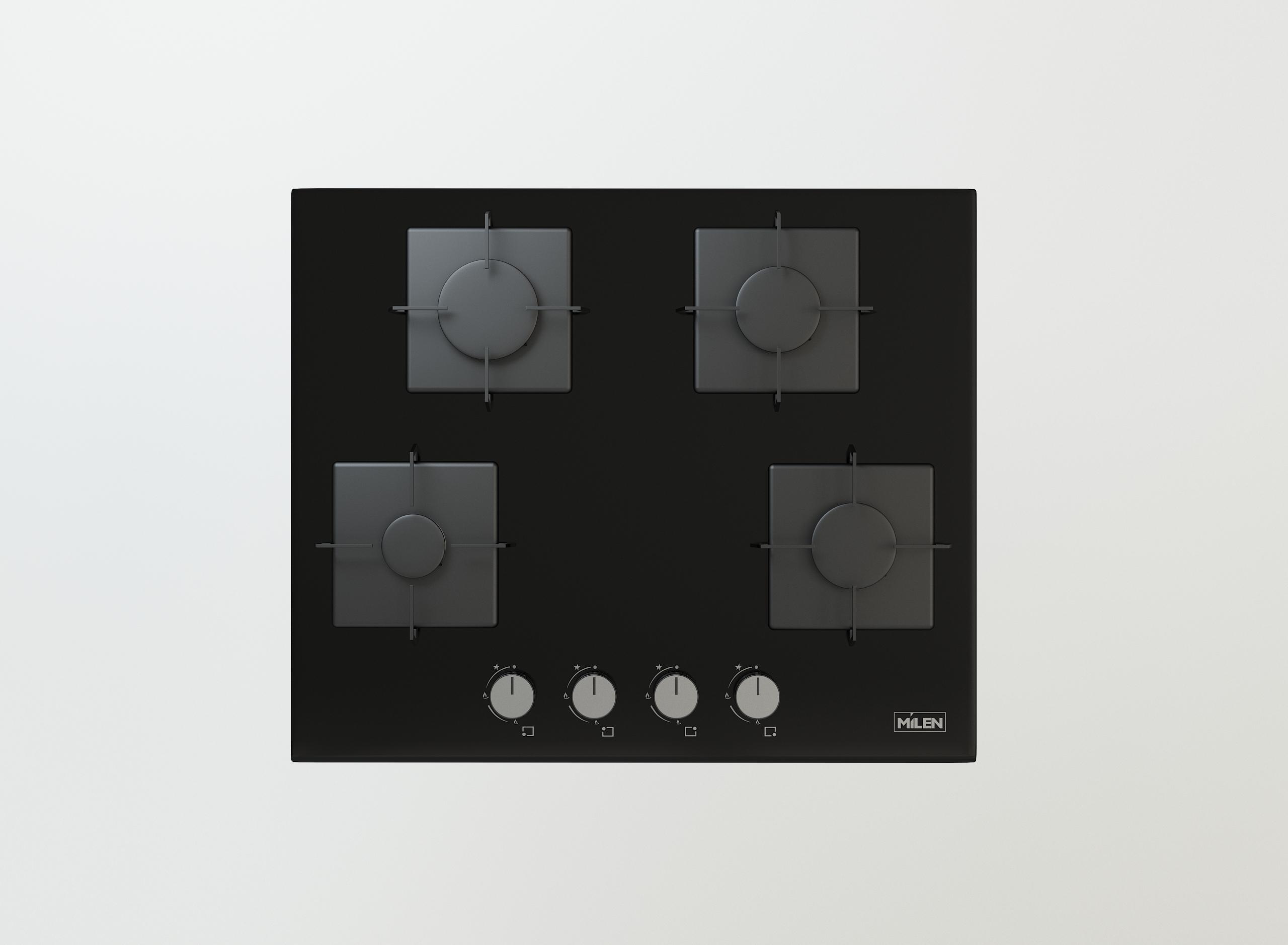 side button gas cooker inox  enamel white black enamel  60 70 90 cm