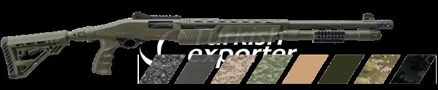 Pump Action Shotgun  RS-X3 Cerakote Green