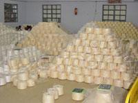 Sell NE 9/1-Ne 120/1, 120/2 Cotton, Organic, Gassed Yarn