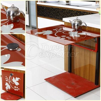 kitchen/balkony table