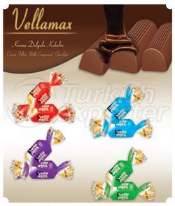 Vellamax Double Twist Compound Chocolate