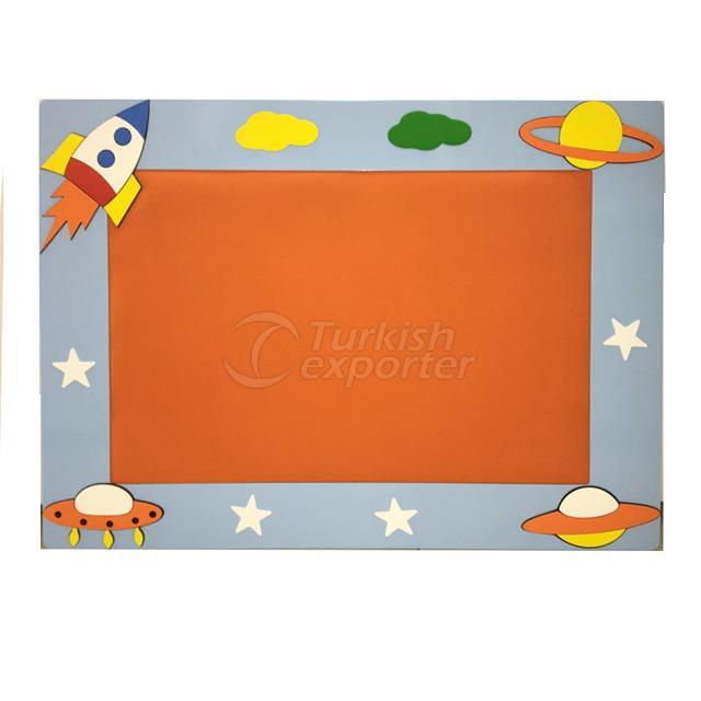 Planets Showboard-100*135 cm VR-9554