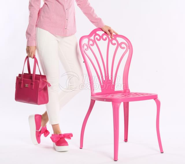 فلورا الألومنيوم كرسي