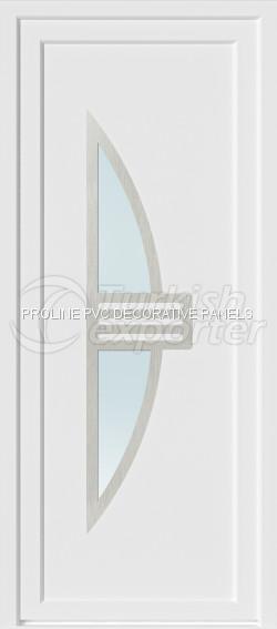 Inox PVC Door Panels 20003