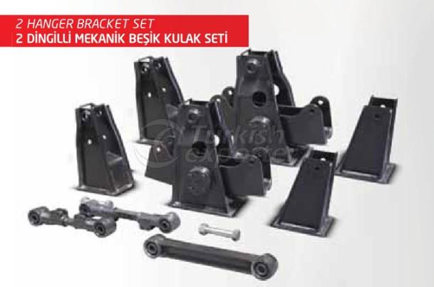 2 Hanger Bracket Set
