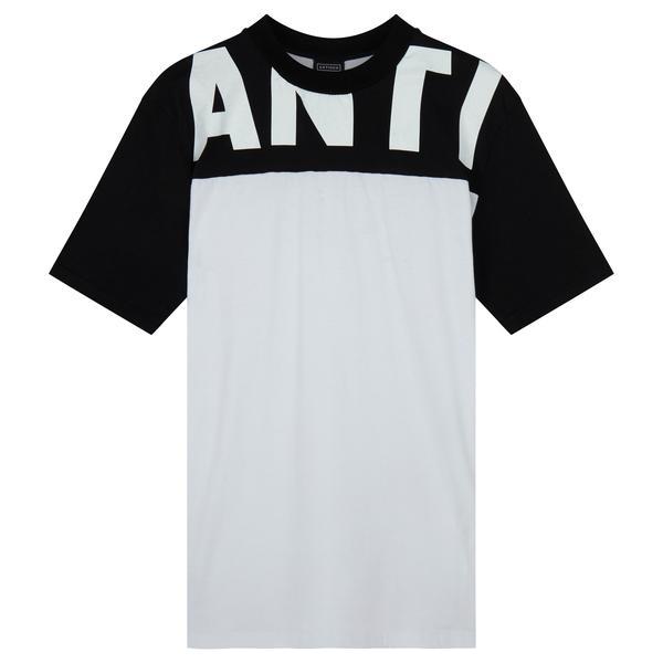 ANTI Block Panel T-Shirt – White