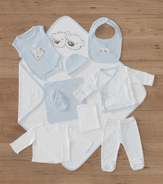 Twinbears Blue Babygro
