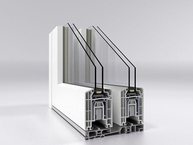 HS76 PVC SLIDING SYSTEMS