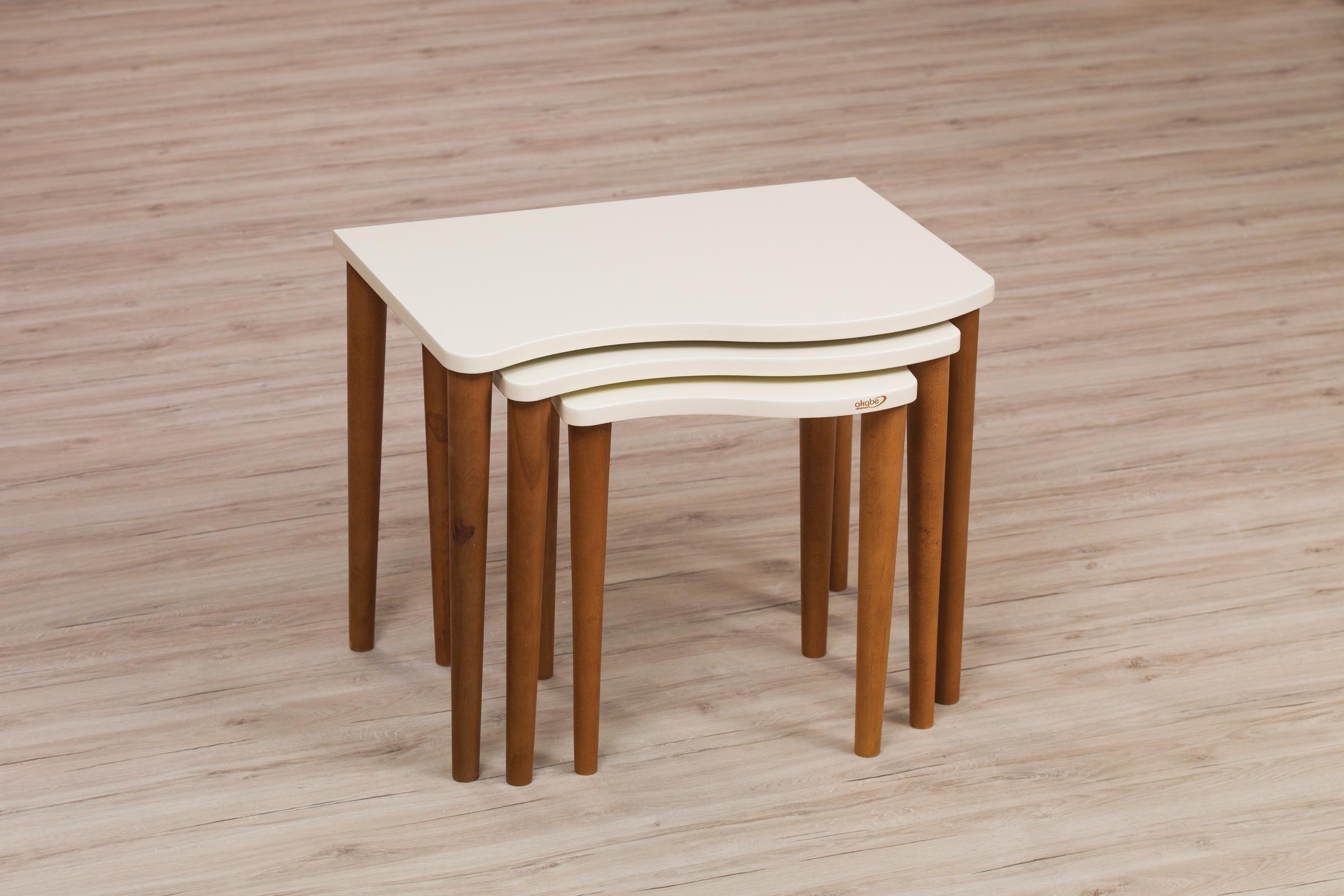 127 COFFE TABLE SET 4 PART