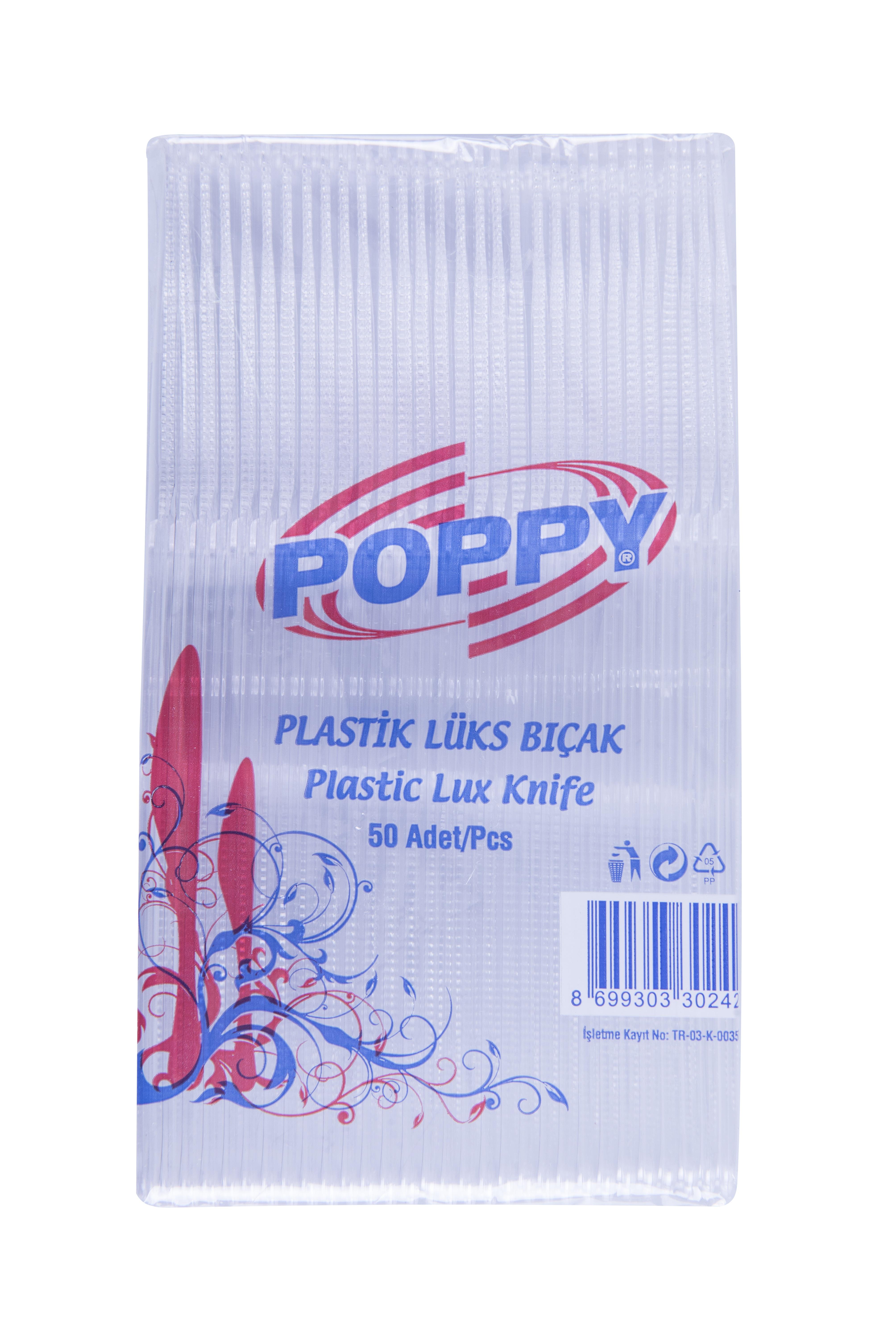 Poppy Plastic Luxury Knife