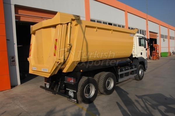 Caminhão montado meia tubulação Dump06