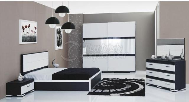 Bedroom Sets LWY-20 ZUMRUT WHITE