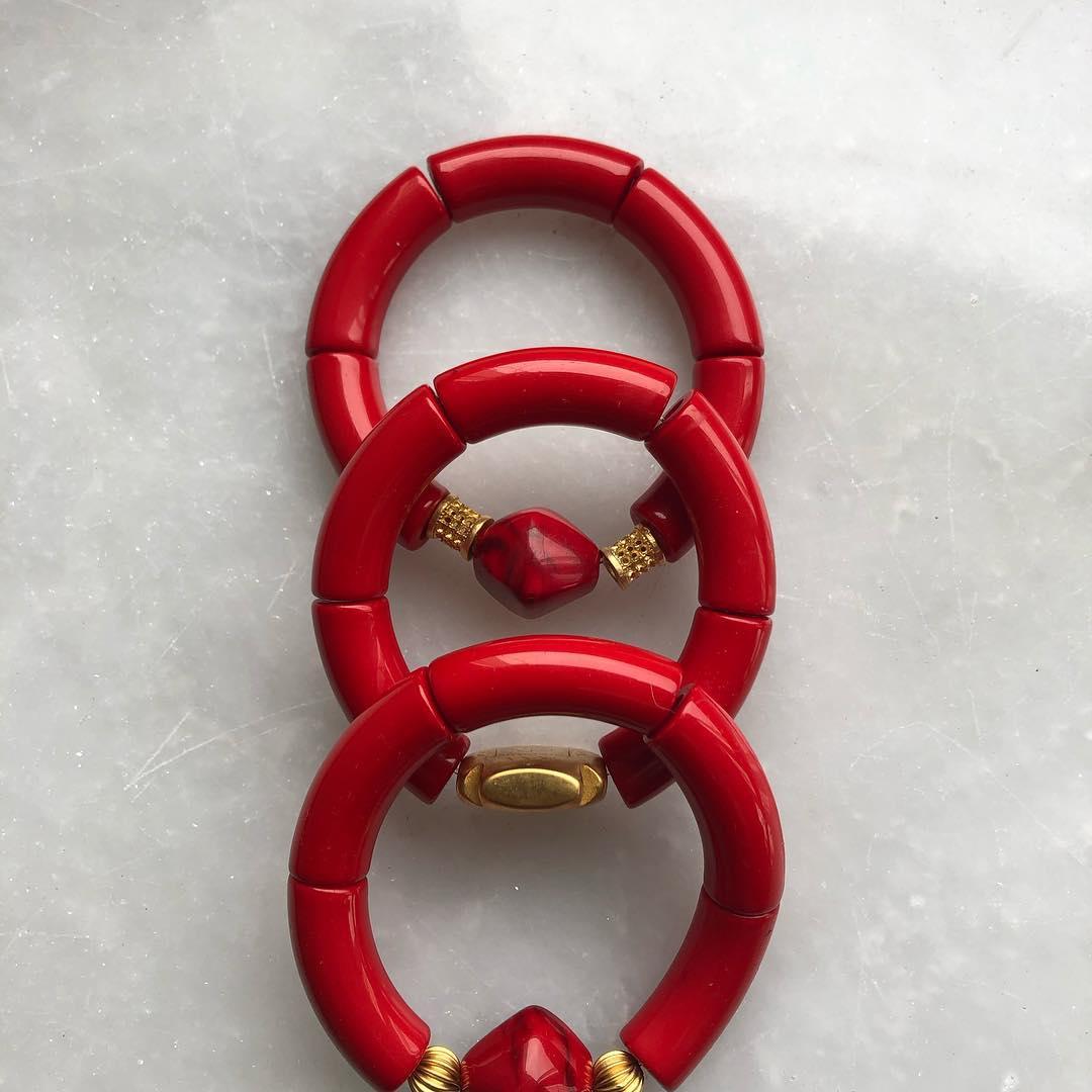 Handmade Red Bracelet