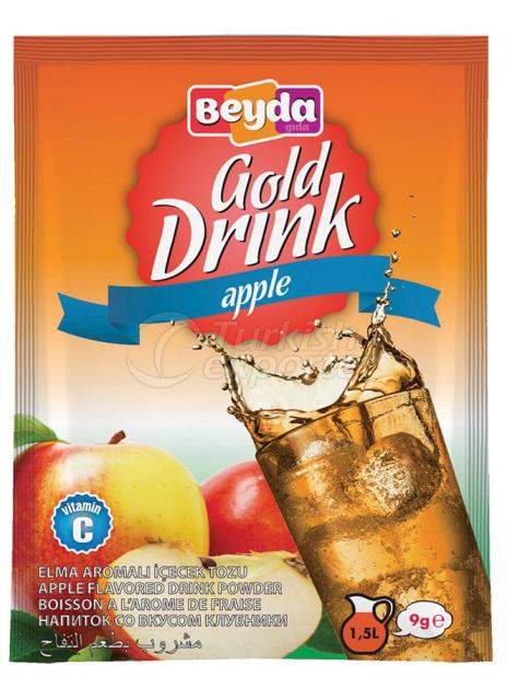 مسحوق شراب بنكهة التفاح