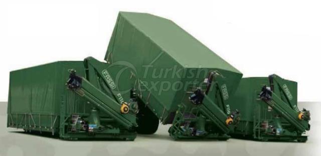 Fassi Knuckle Boom Cranes Defence Serie