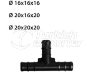 Round Drop Irrigation System Fittings TE Dovetail