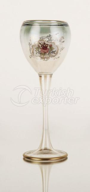 Green Wine Glass 1RCC-008r