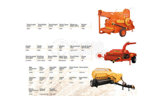 Crop Threster With Reservory