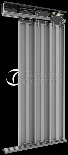 H3 Telescopic 3 Panel Landing Door