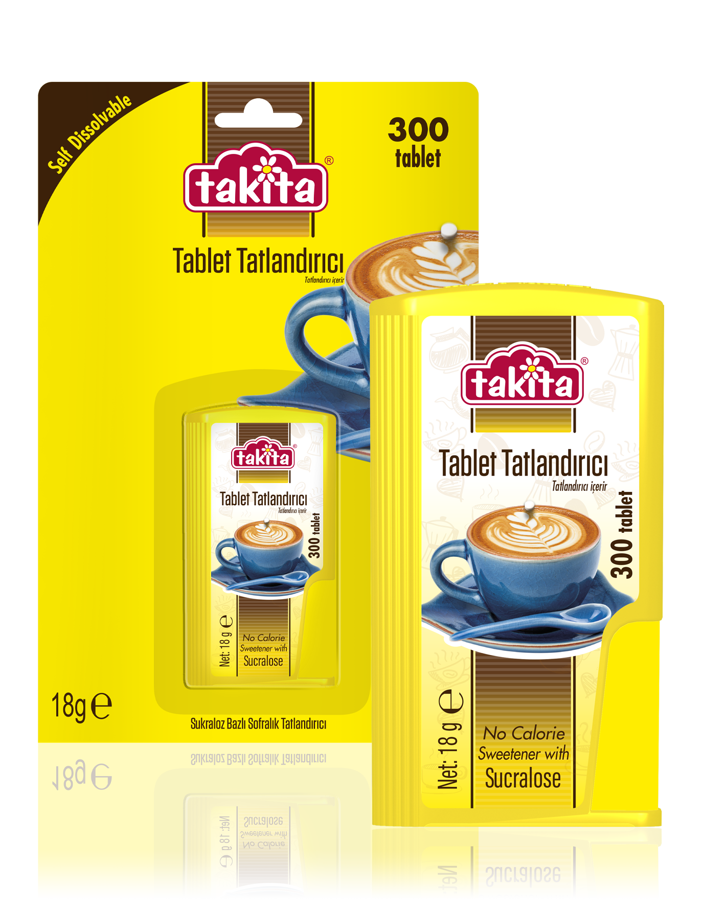 Tablet Sweetener with Sucralose 300 Tablets