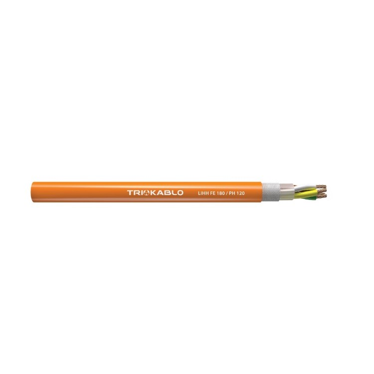 Fire Resistance Cables - LIHH FE 180 PH120