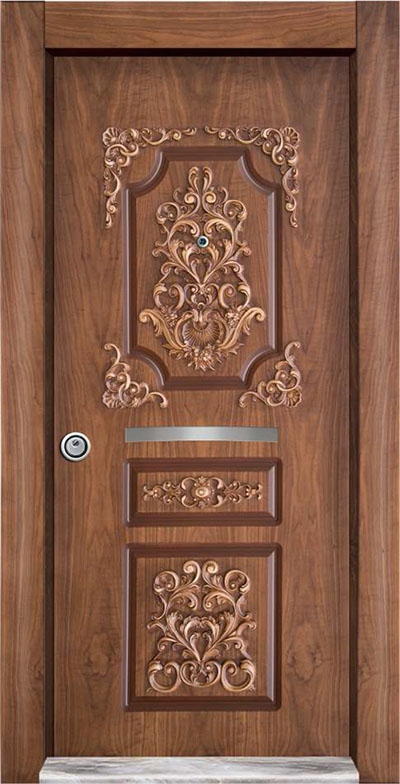 Embossed Steel Door 7000