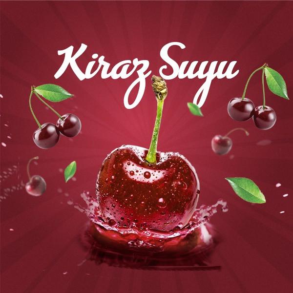 Jugo de cereza dulce