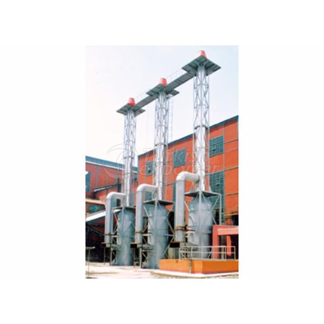 Smoke Gas Filter System