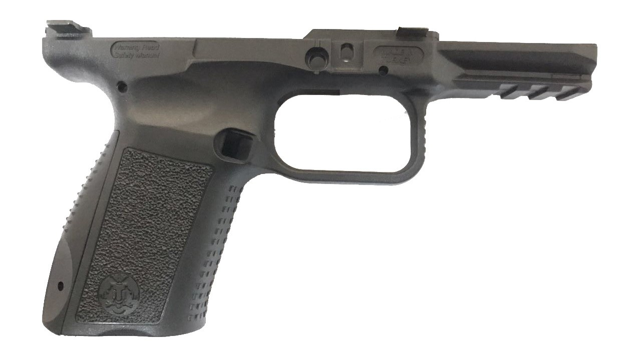 Estrutura da pistola de polímero - 3