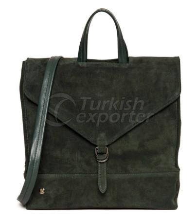 Men Travel Backpack Green FLUME Weekender
