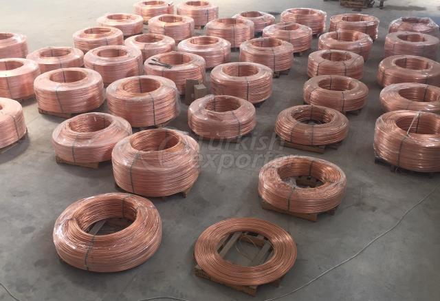 8mm copper rod (oxygen free)