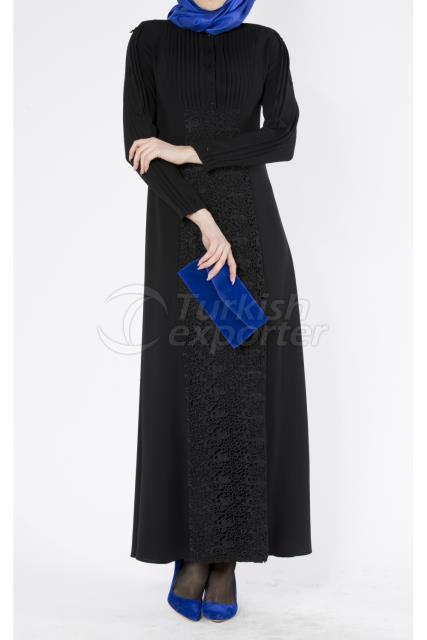 Nazende Lacy Dress Noir Suzi