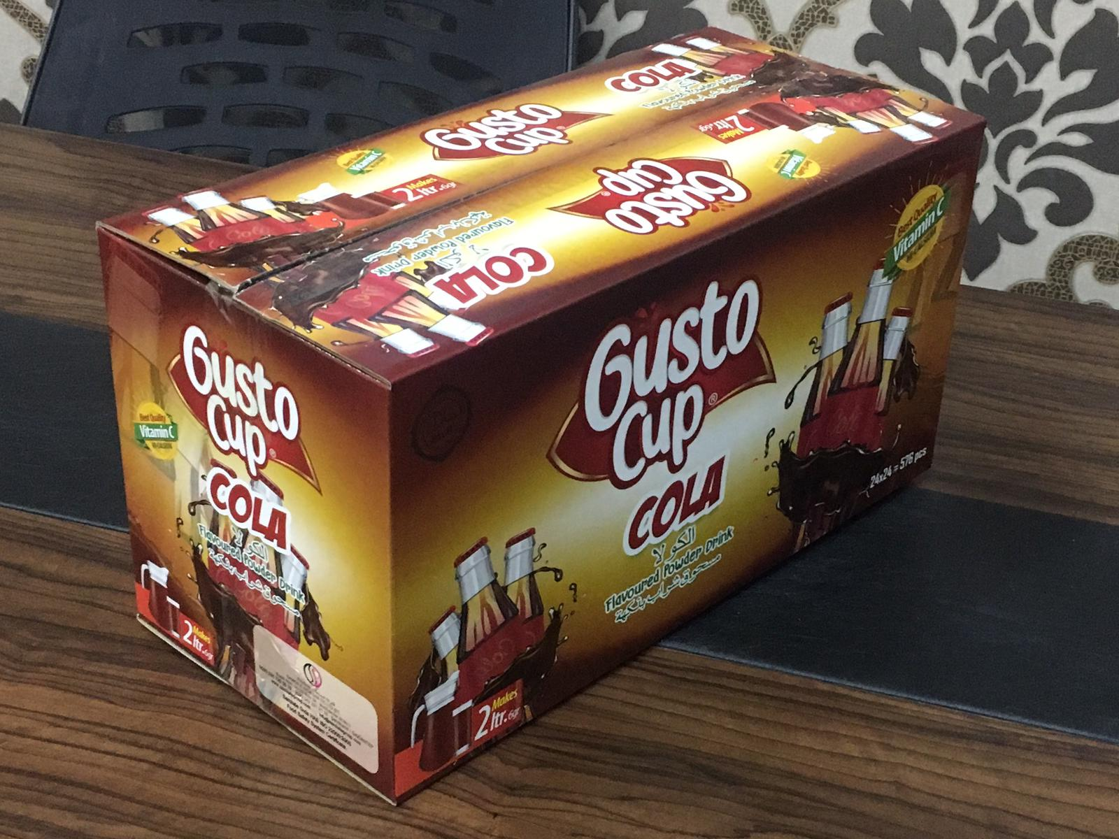 gusto cup powder drink