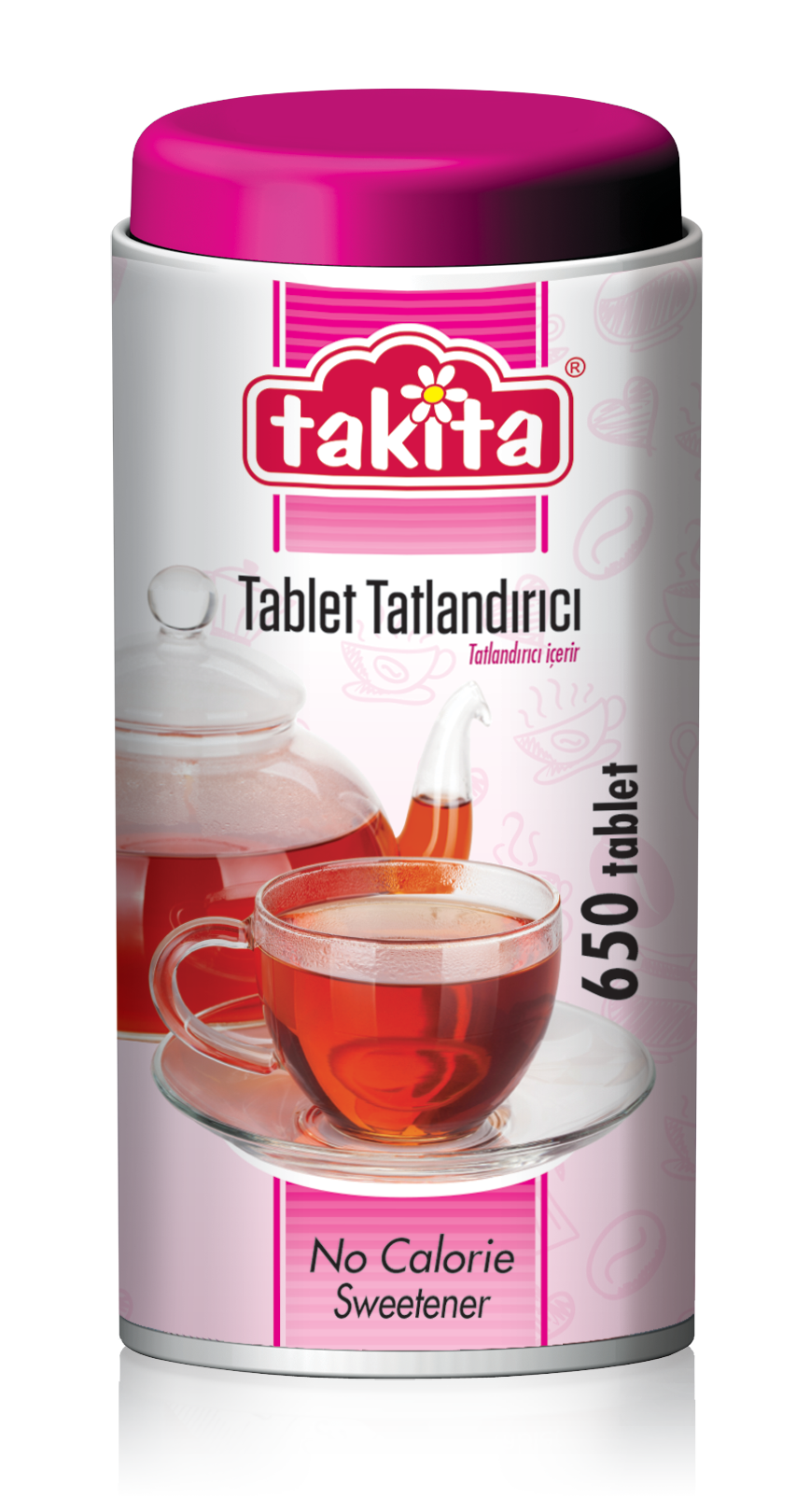 Takita Tablet Sweetener with Saccharine 650 Tablets