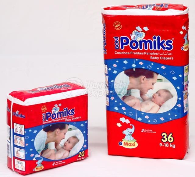 Pomiks Baby Diaper