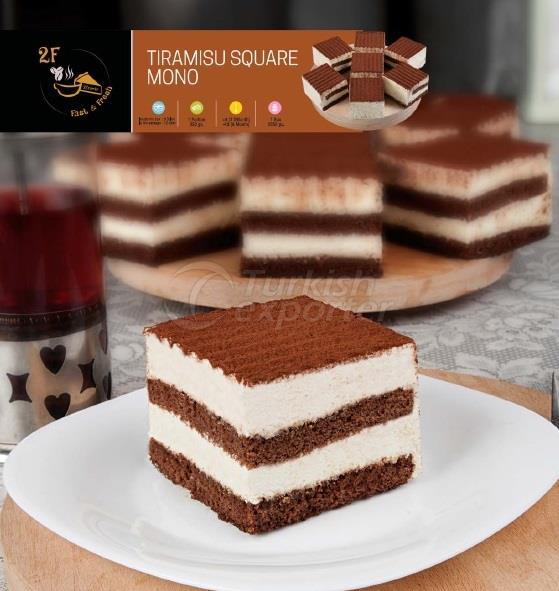 Frozen Tiramisu Square Mono